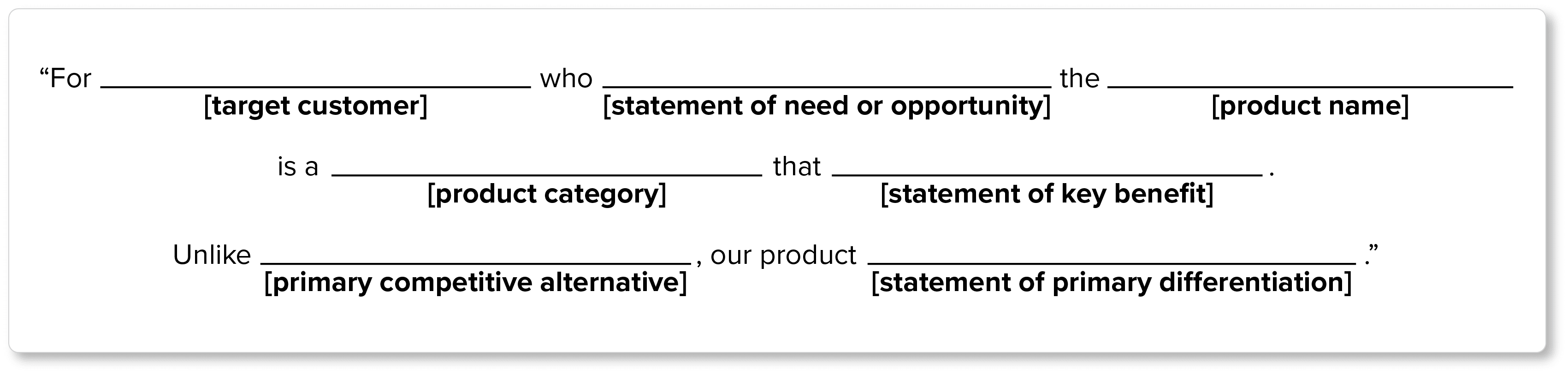 Writing Your Brand Positioning Statement | Zoho Academy